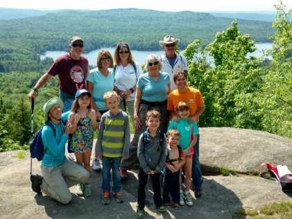 A guided hike up Bald Mountain.