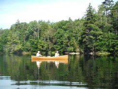 Canoeing in the ADKs